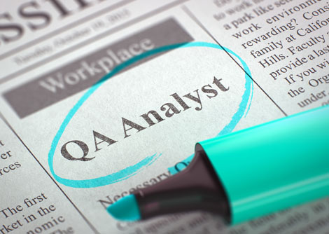 QA Analyst Job Description posting