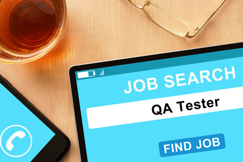 "QA Jobs (website with ""QA tester jobs"" page)"