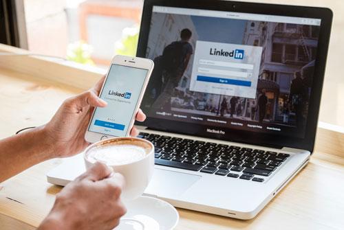LinkedIn QA Jobs (mobile app showing LinkedIn)