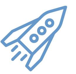 Performance/Load Testing (rocket ship icon)