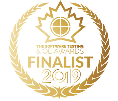 Software Testing Awards Finalist (badge)