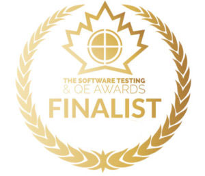 Software Testing Awards badge