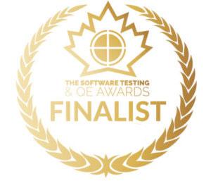 Software Testing Awards badge