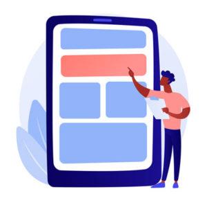 Person regression testing mobile app