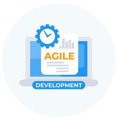 Agile development Scrum logo